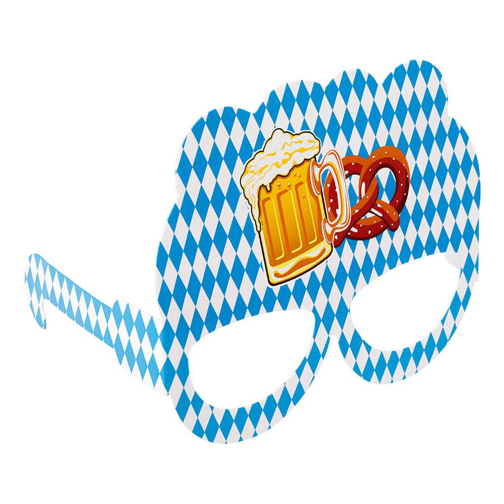Oktoberfest Pappersglasögon - 10-pack
