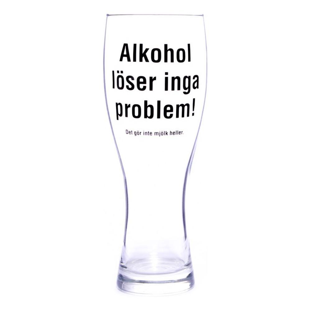 Ölglas Alkohol Löser Inga Problem - 1-pack