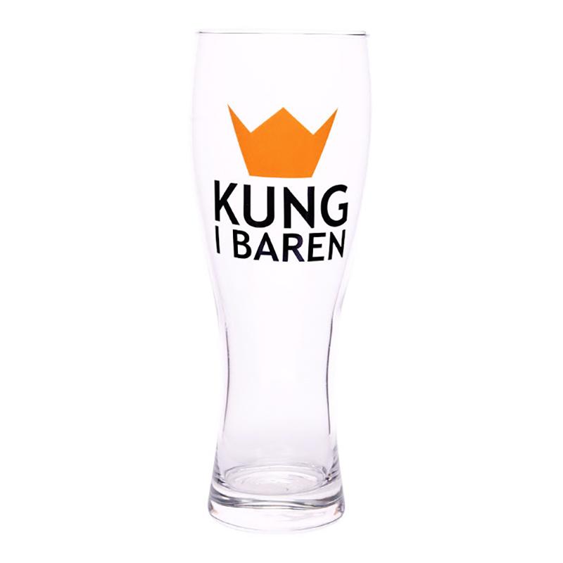 Ölglas Kung i Baren - 1-pack