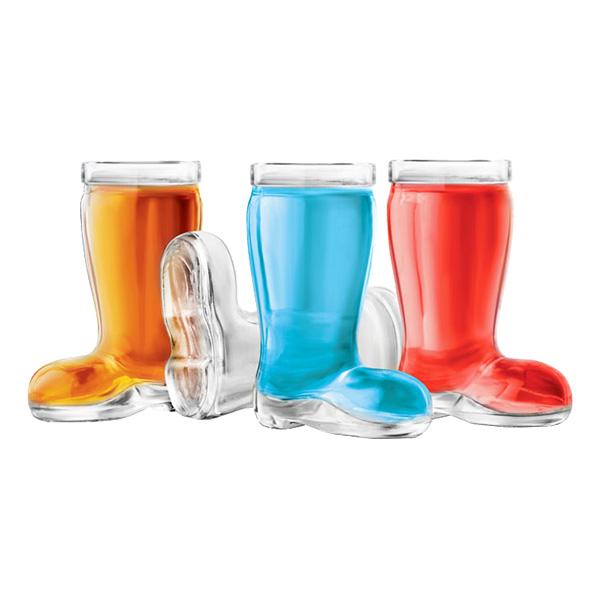 Ölstövel Shotglas - 4-pack