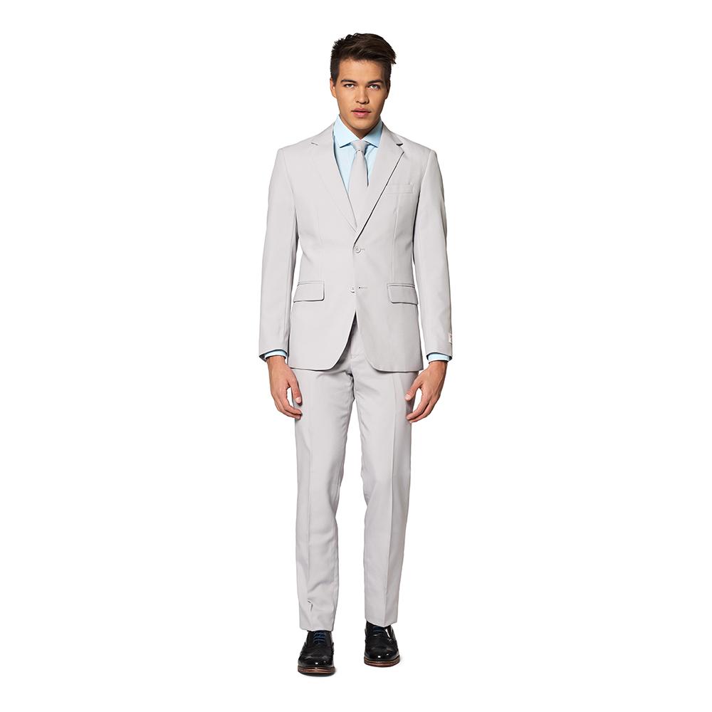 OppoSuits Groovy Grey Kostym - 62