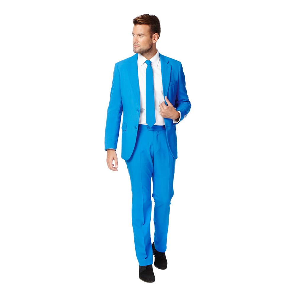 OppoSuits Blue Steel Kostym - 46