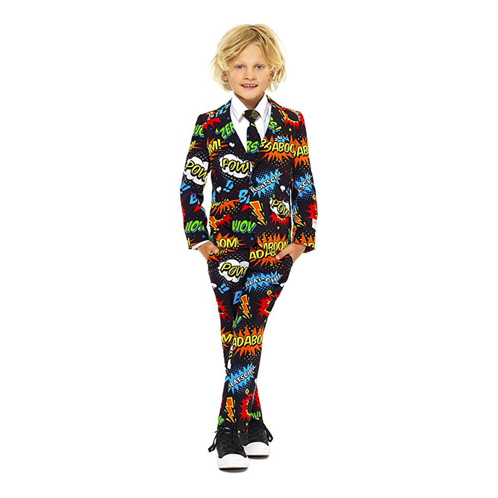 OppoSuits Boys Badaboom Kostym - 92-98