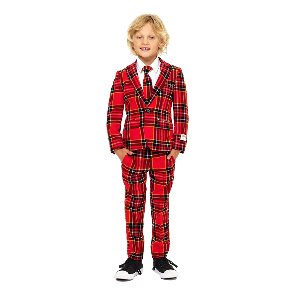 OppoSuits Boys The Lumberjack Kostym - 92/98