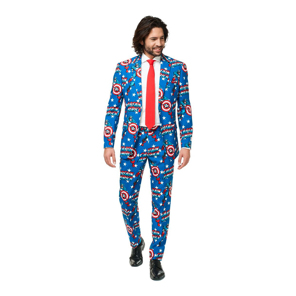 OppoSuits Captain America Kostym - 46