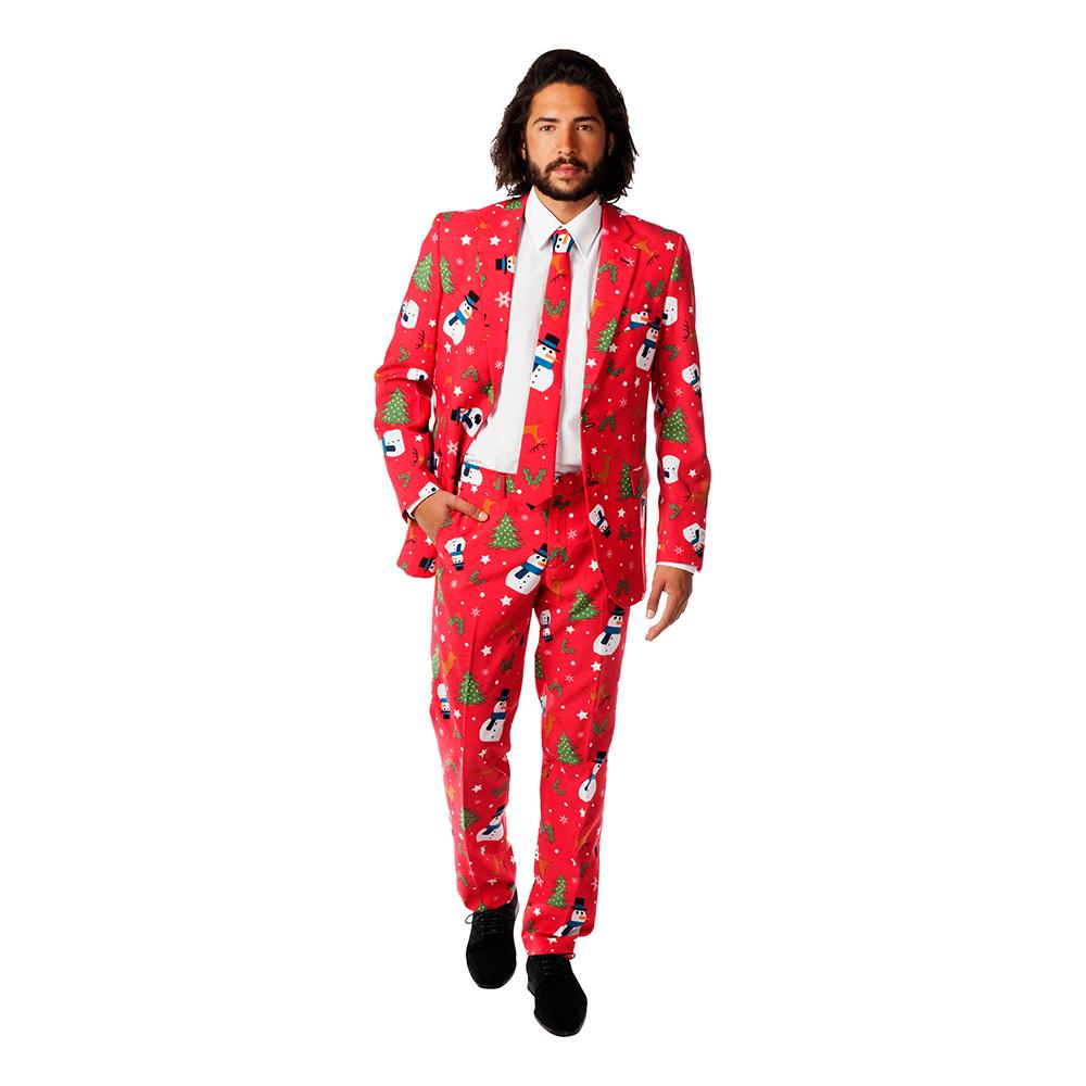 OppoSuits Christmaster Kostym - 50