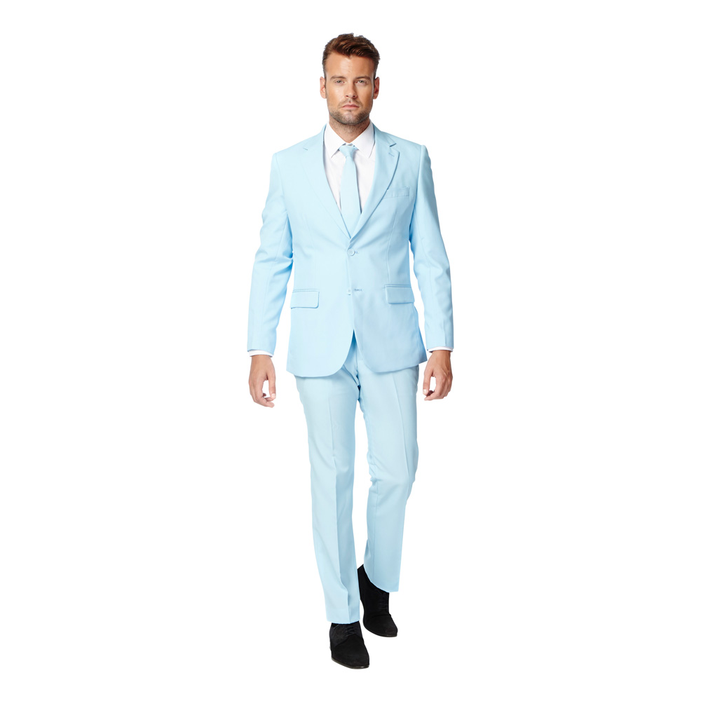 OppoSuits Cool Blue Kostym - 46