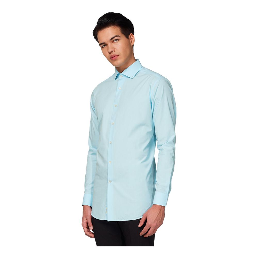 OppoSuits Cool Blue Skjorta - 35/36