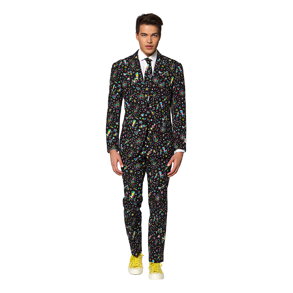 OppoSuits Disco Dude Kostym - 48