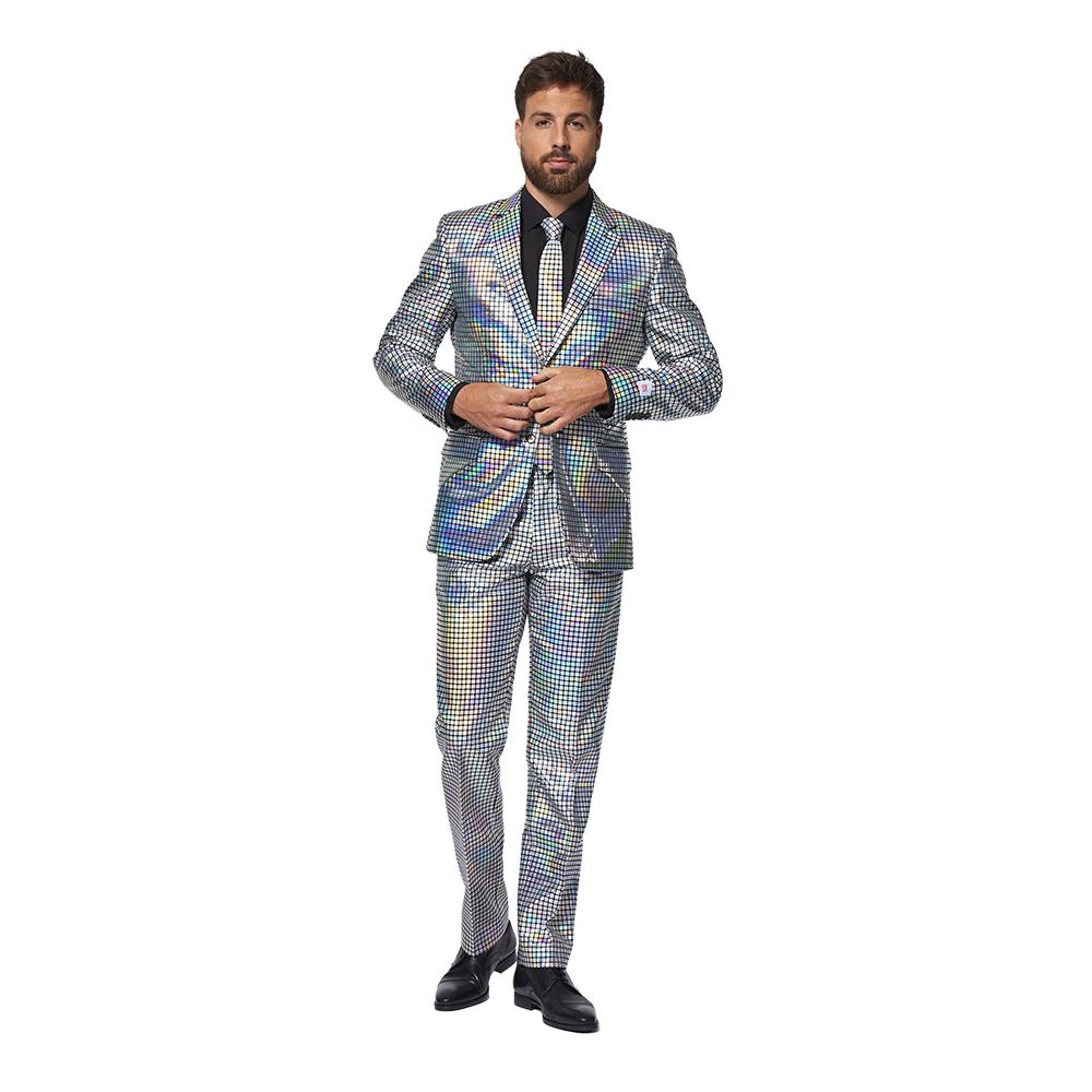 OppoSuits Discoballer Kostym - 48