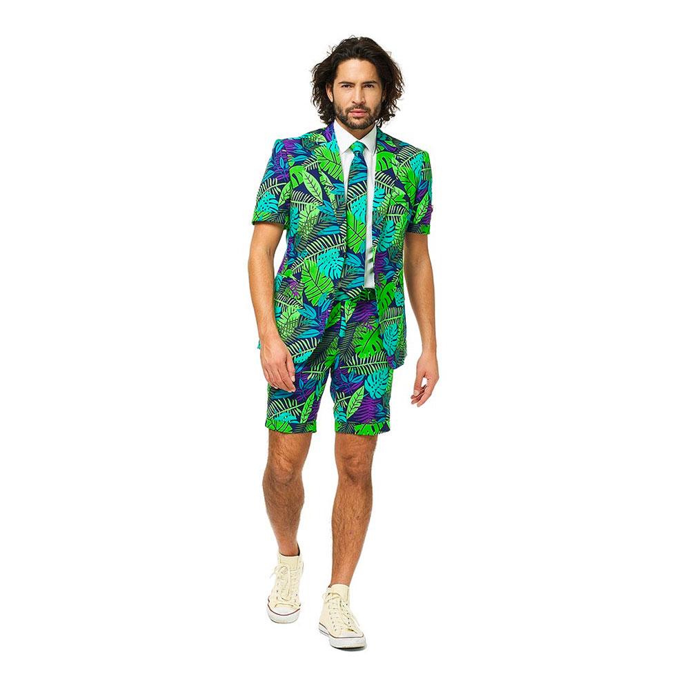 OppoSuits Juicy Jungle Shorts Kostym - 62 | Hem//Maskerad//Maskeraddräkter//Herrdräkter | Partyoutlet