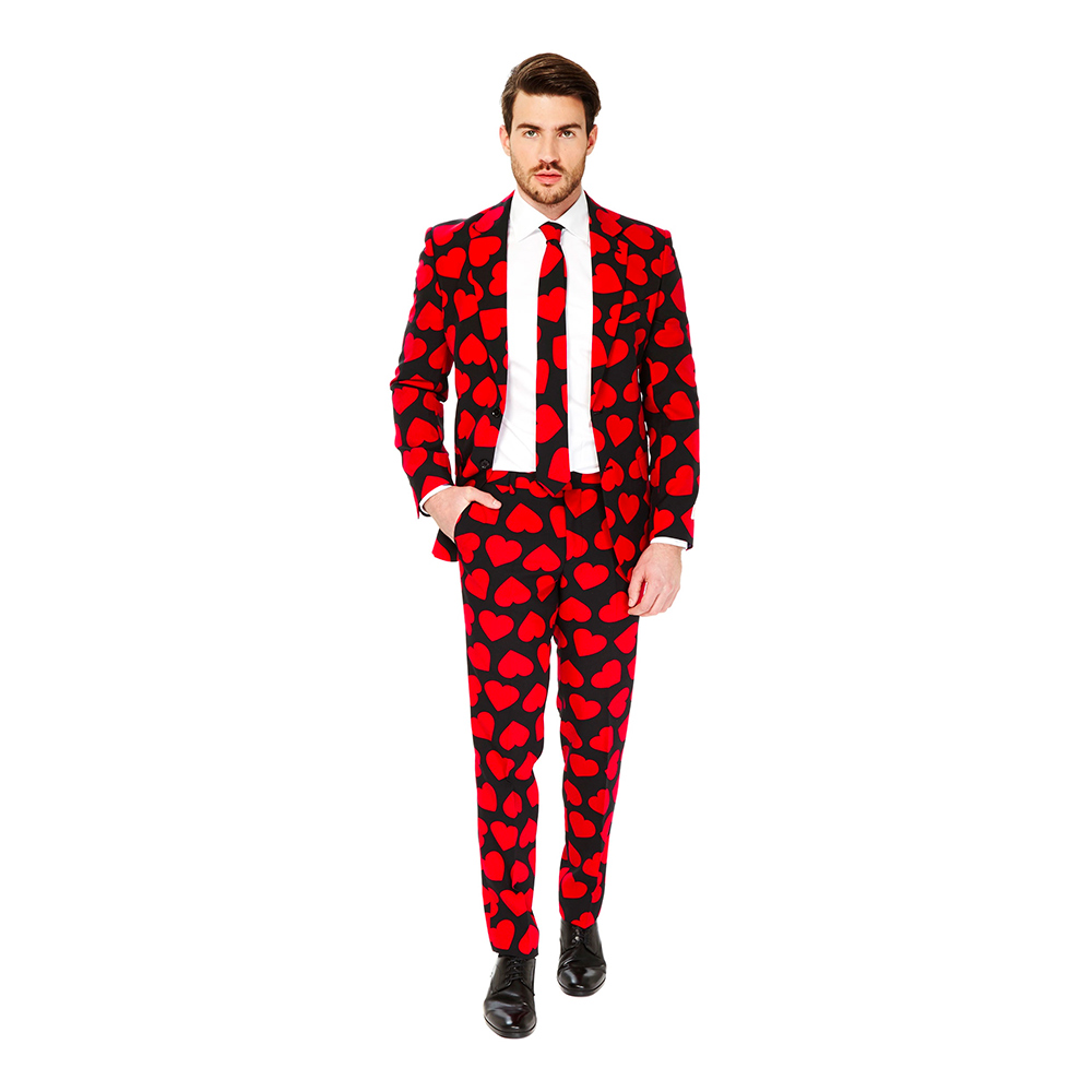 OppoSuits King of Hearts Kostym - 46