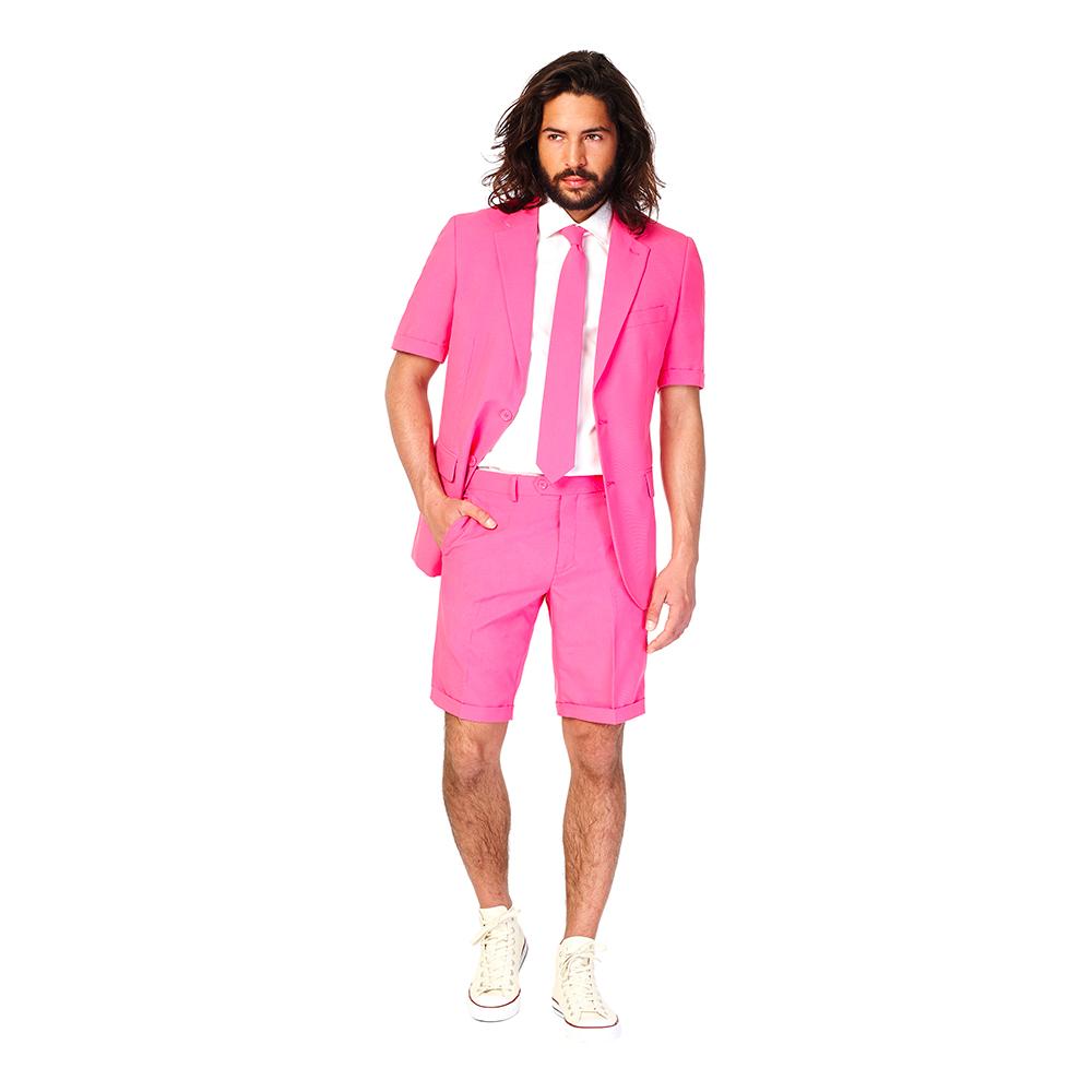 OppoSuits Mr Pink Shorts Kostym - 48