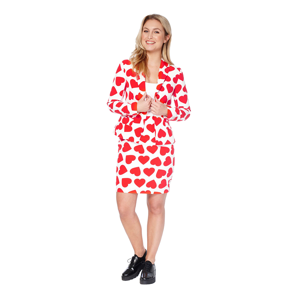 OppoSuits Queen of Hearts Kostym - 34