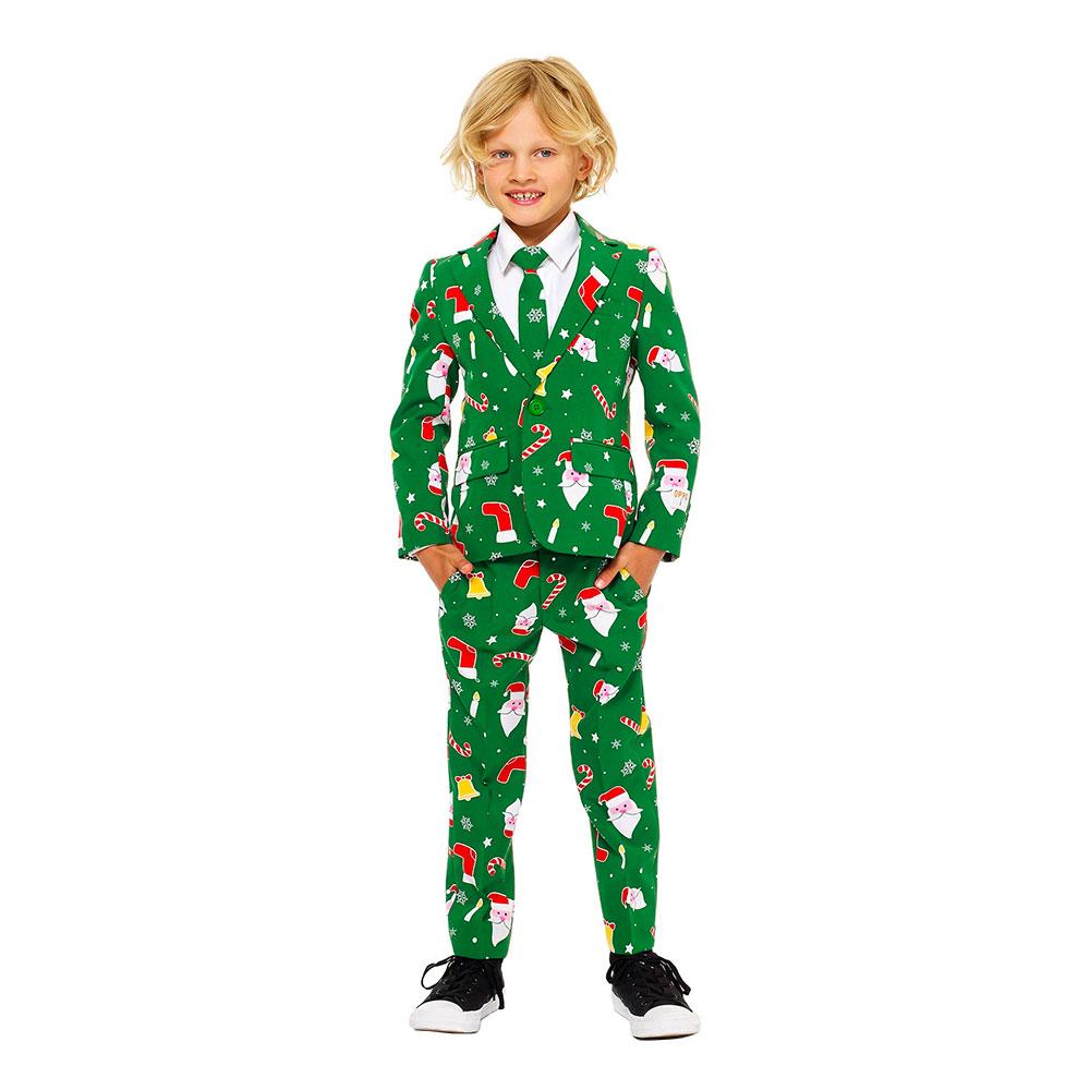 OppoSuits Santaboss Boys Kostym - 110/116