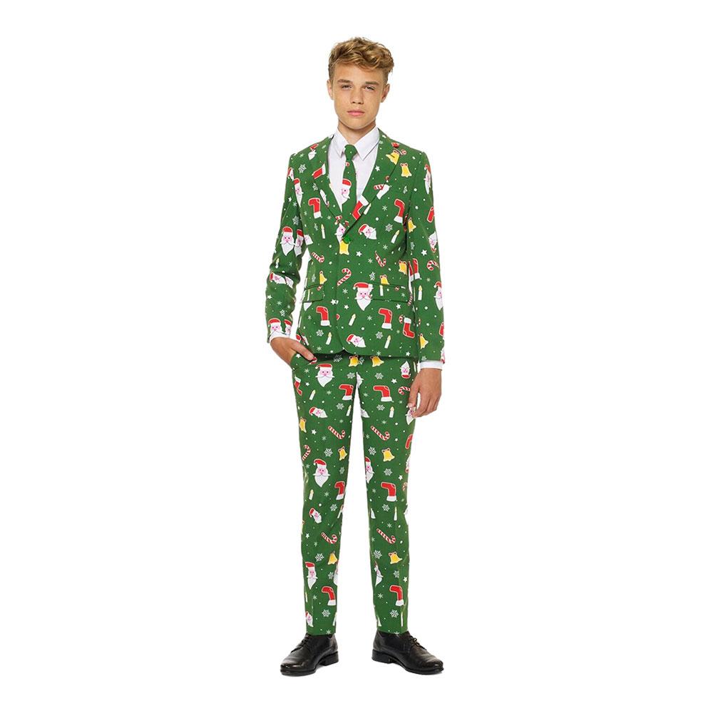 OppoSuits Santaboss Teen Kostym - 134/140