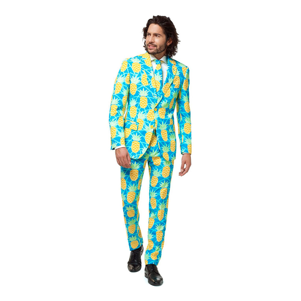 OppoSuits Shineapple Kostym - 46