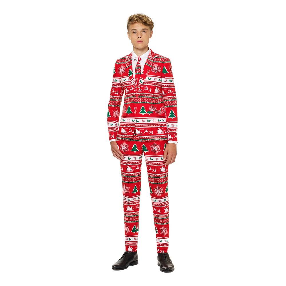 OppoSuits Teen Winter Wonderland Kostym - 170-176