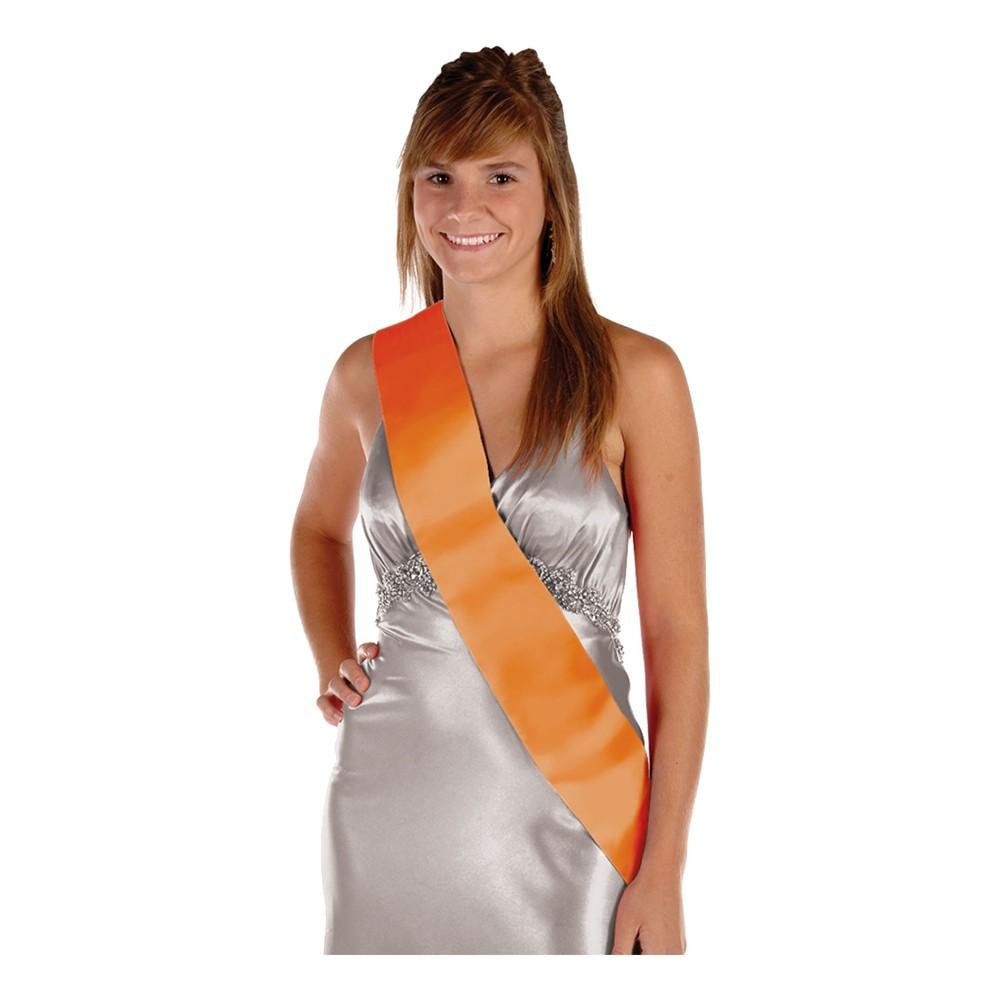 Ordensband Blankt - Orange