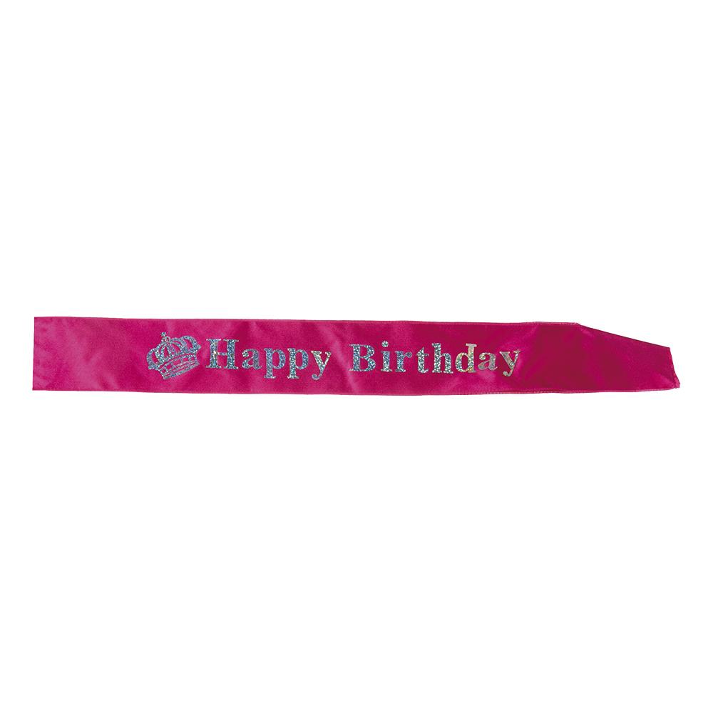Ordensband Happy Birthday