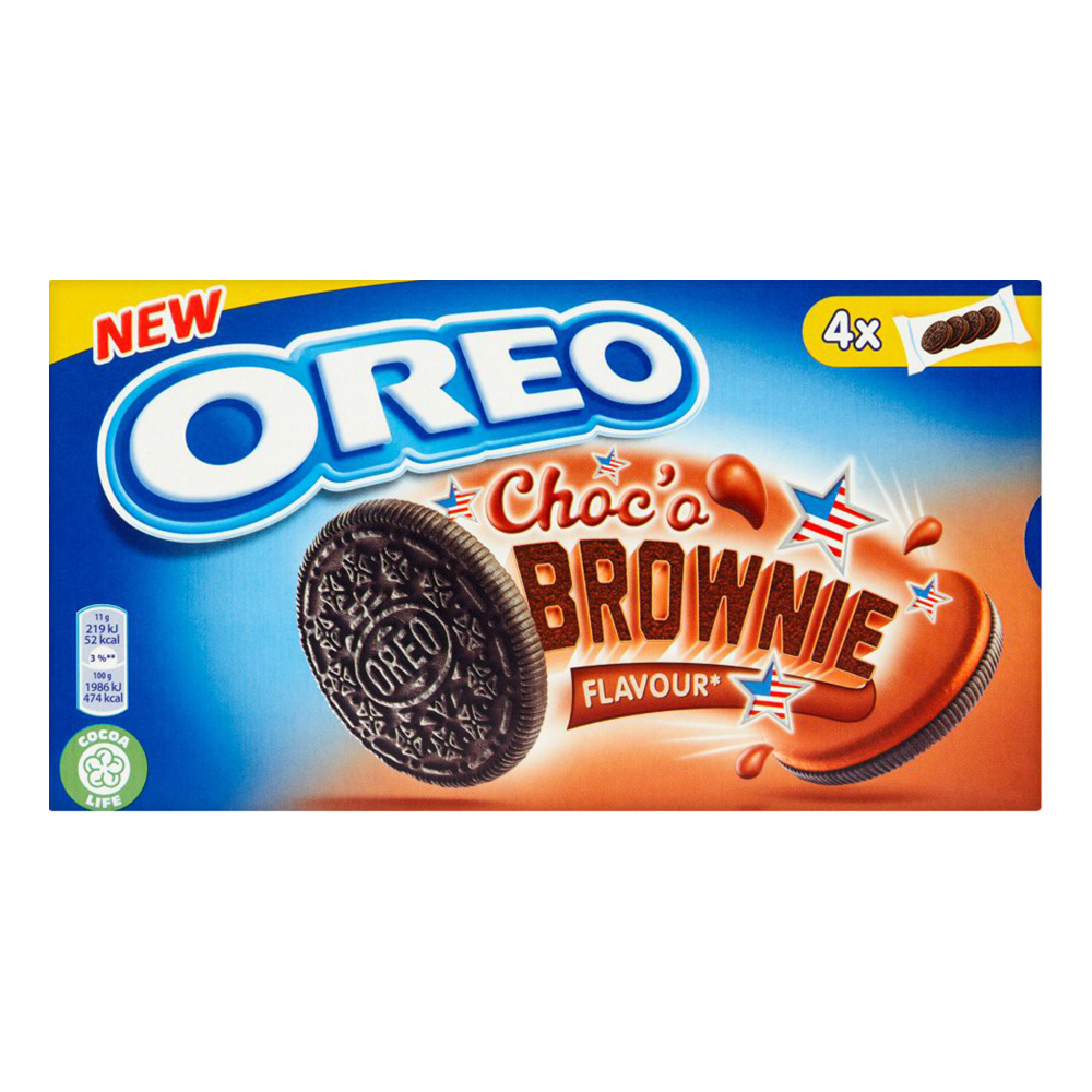 Oreo Chocò Brownie - 176 gram