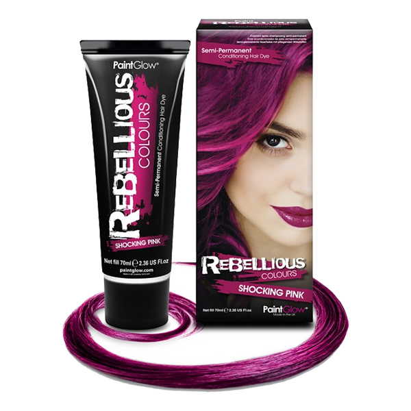 PaintGlow Semi-Permanent Hårfärg - Shocking Pink