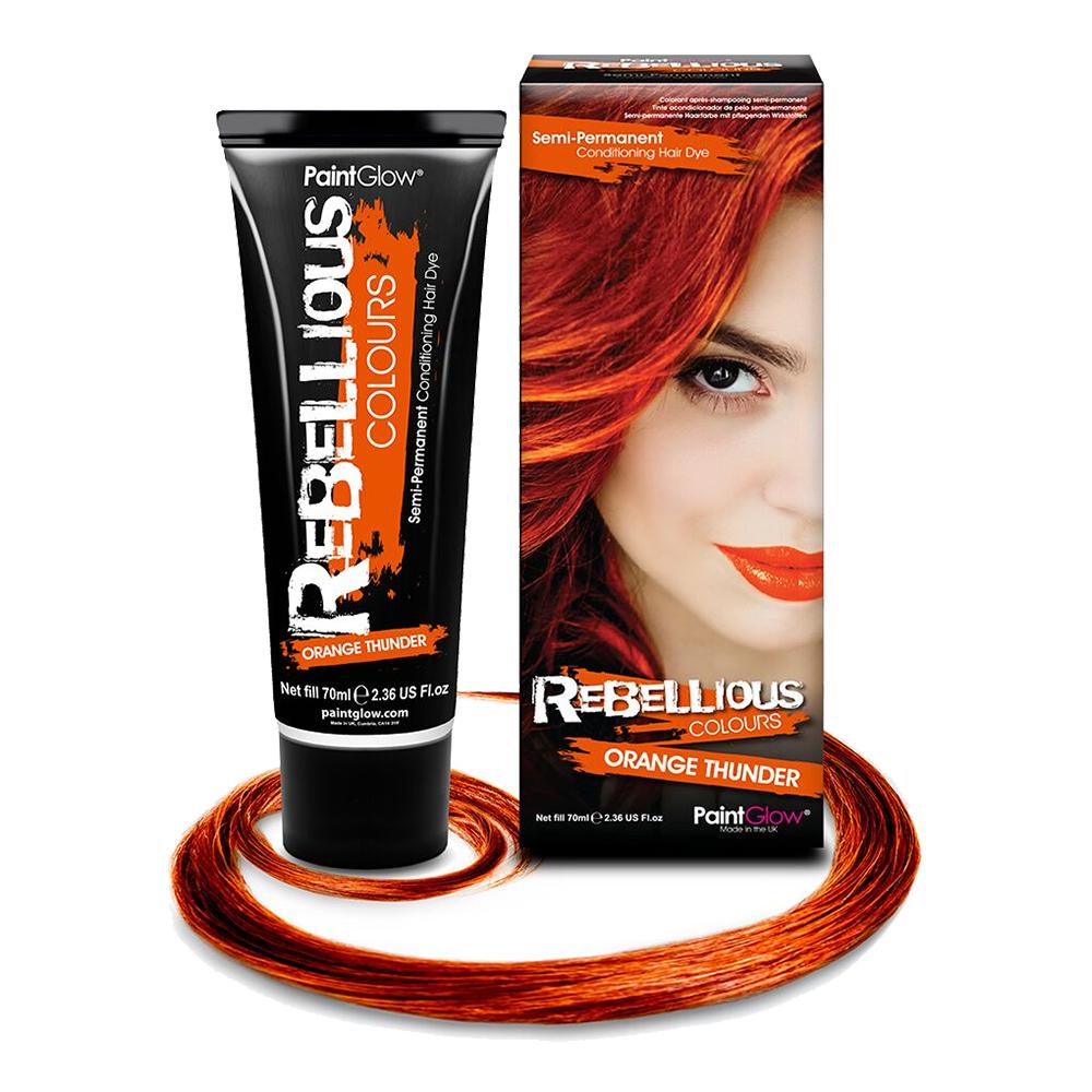 PaintGlow Semi-Permanent Hårfärg - Orange Thunder