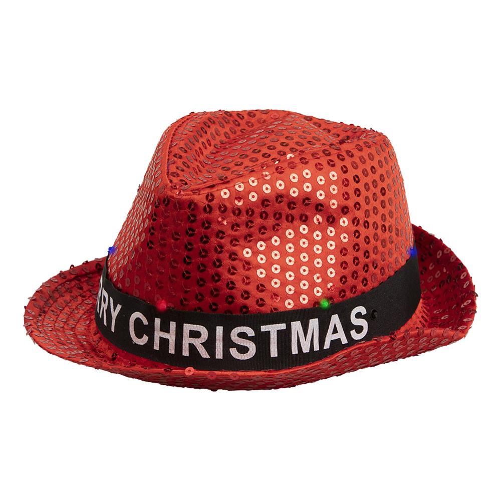 Paljetthat LED Merry Christmas - One size
