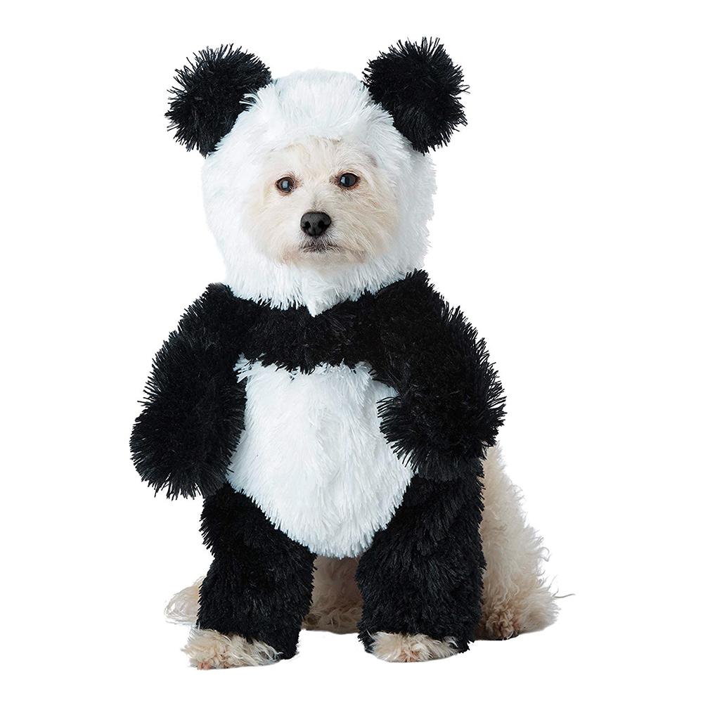 Panda Maskeraddräkt för Hund - Small