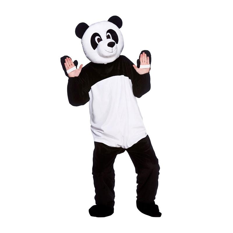 Pandamaskot Maskeraddräkt - One size
