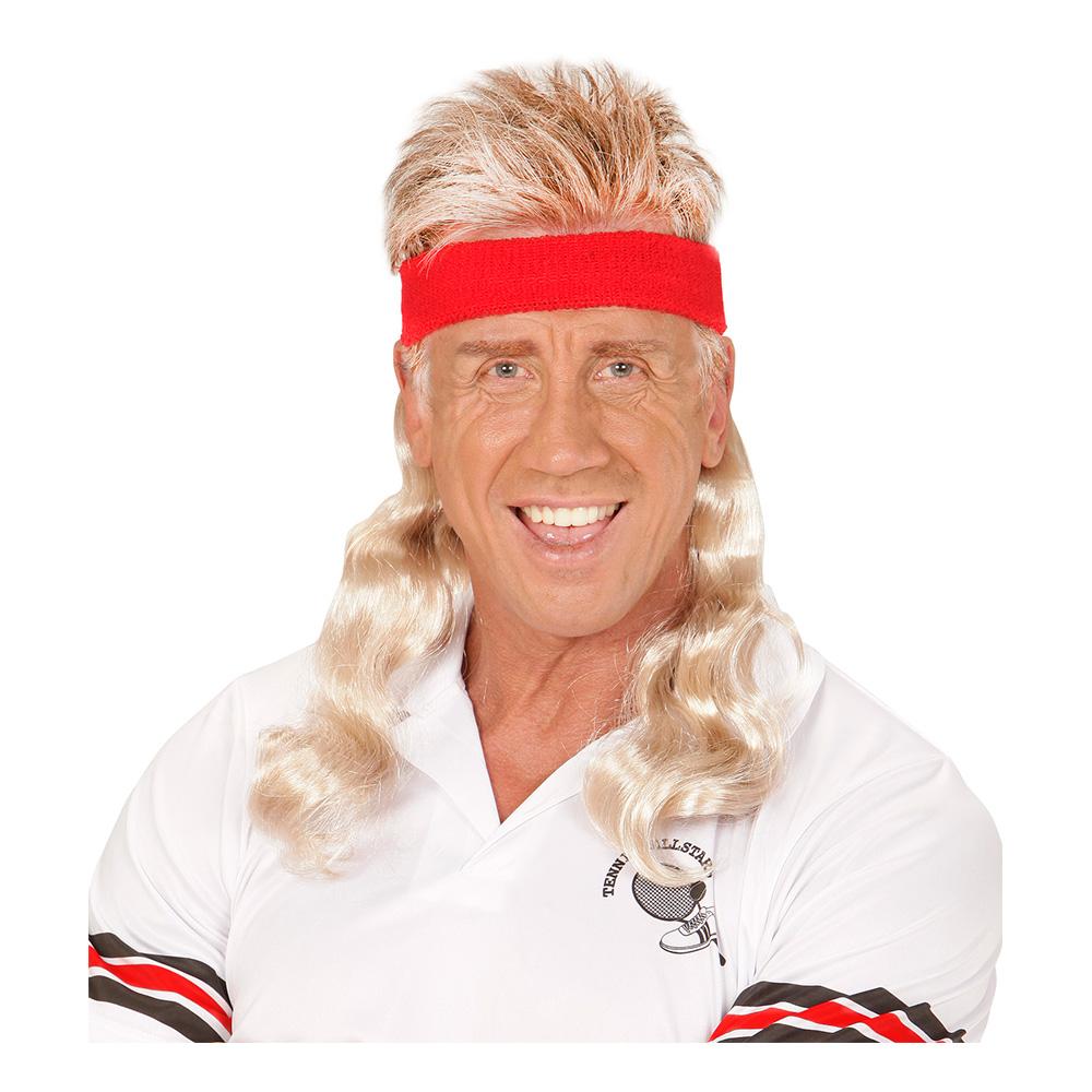 Pannband med Blont Lockigt Hår - One size