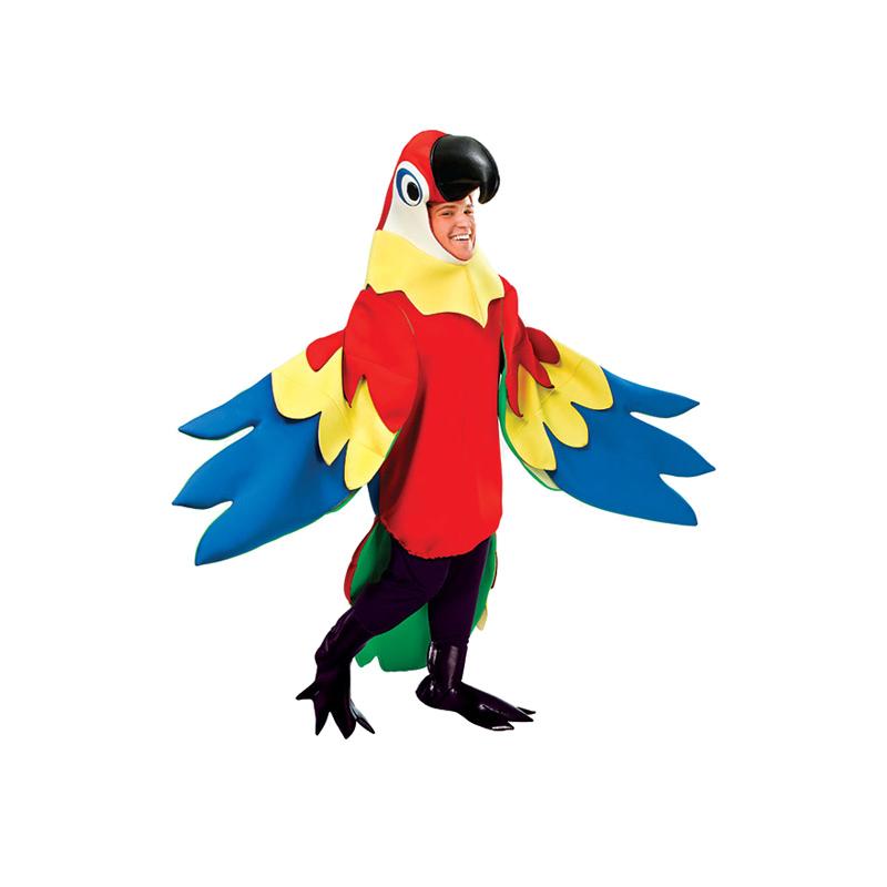 Papegoja Deluxe Maskeraddräkt - One size