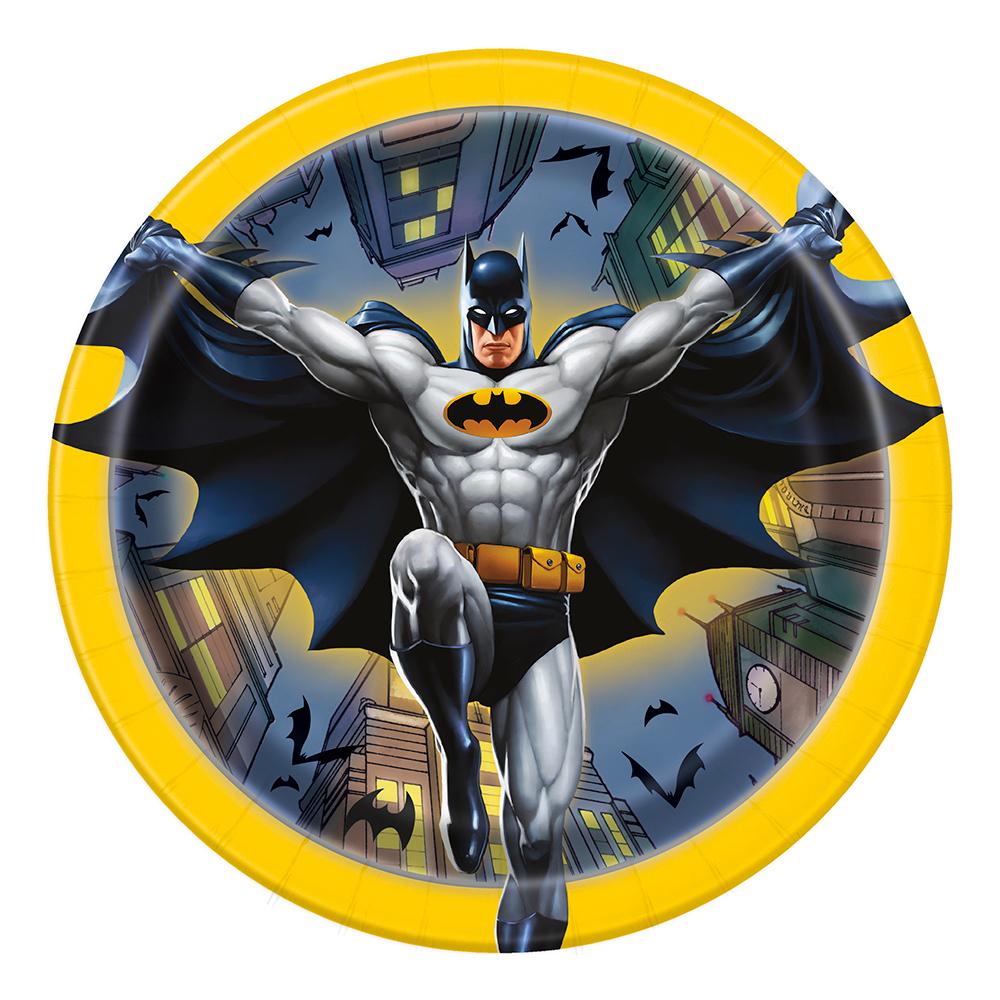 Pappersassietter Batman - 8-pack
