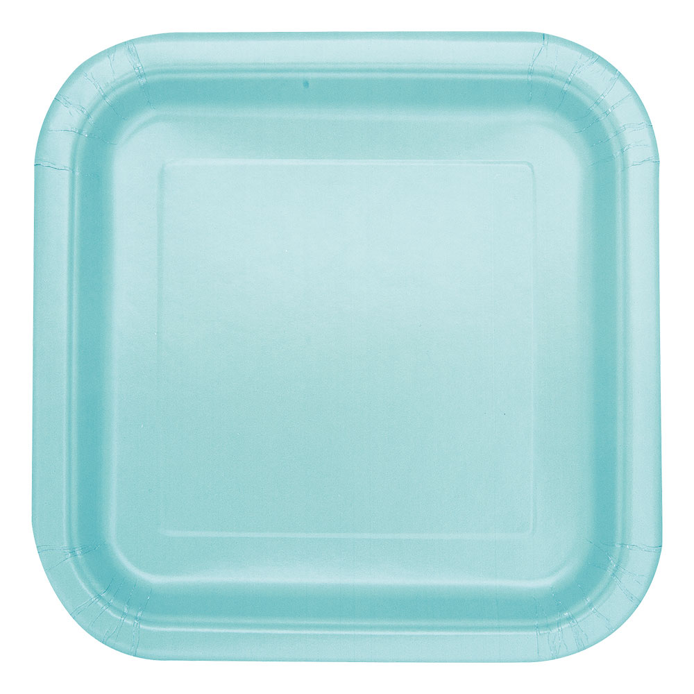 Pappersassietter Kvadrat Mint - 16-pack