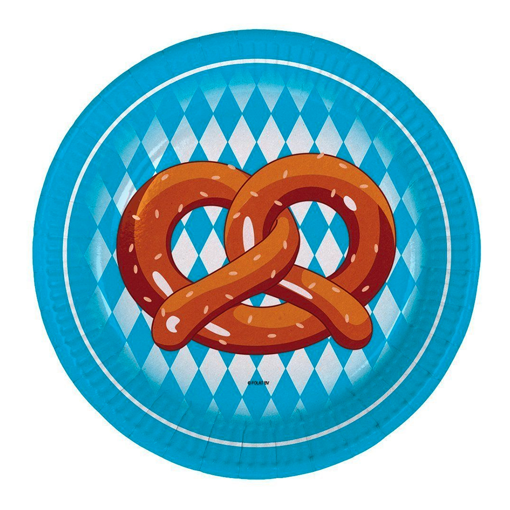 Pappersassietter Oktoberfest Kringla