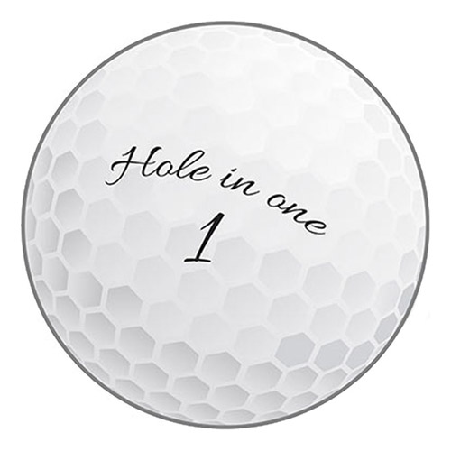 Pappersdekoration Golfboll - 1-pack