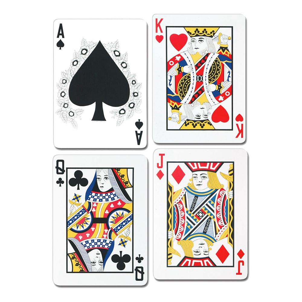 Pappersdekoration Spelkort - 2-pack | Hem//Festartiklar//Dekoration//Väggdekorationer | Partyoutlet