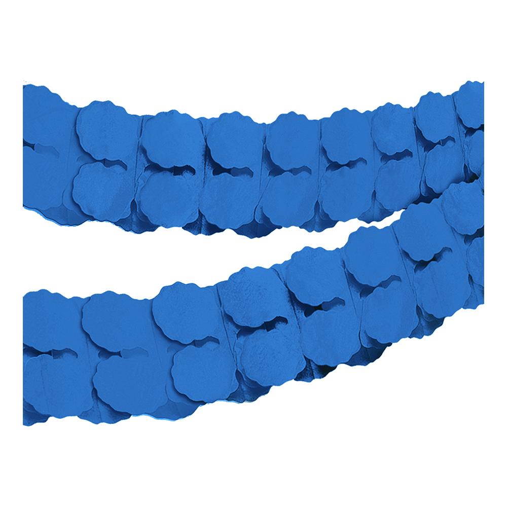 Pappersgirlang Mörkblå