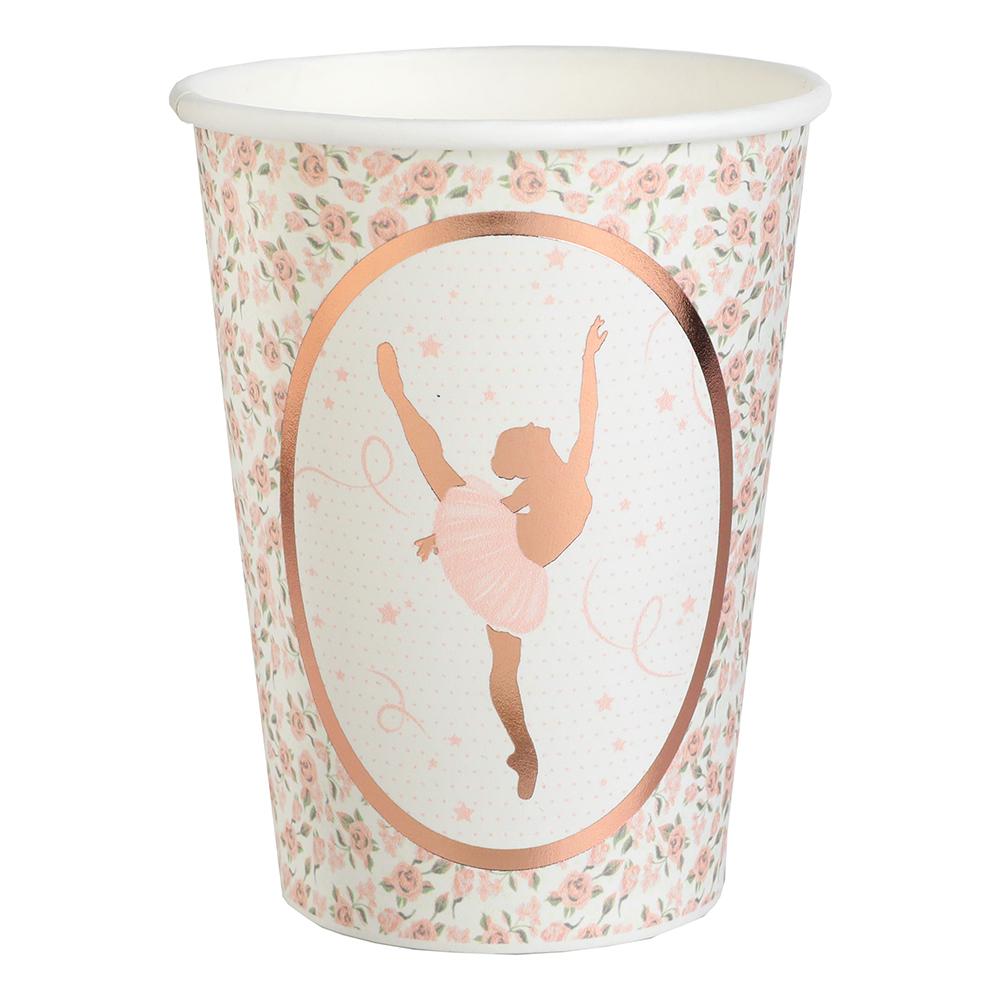 Pappersmuggar Ballerina - 10-pack