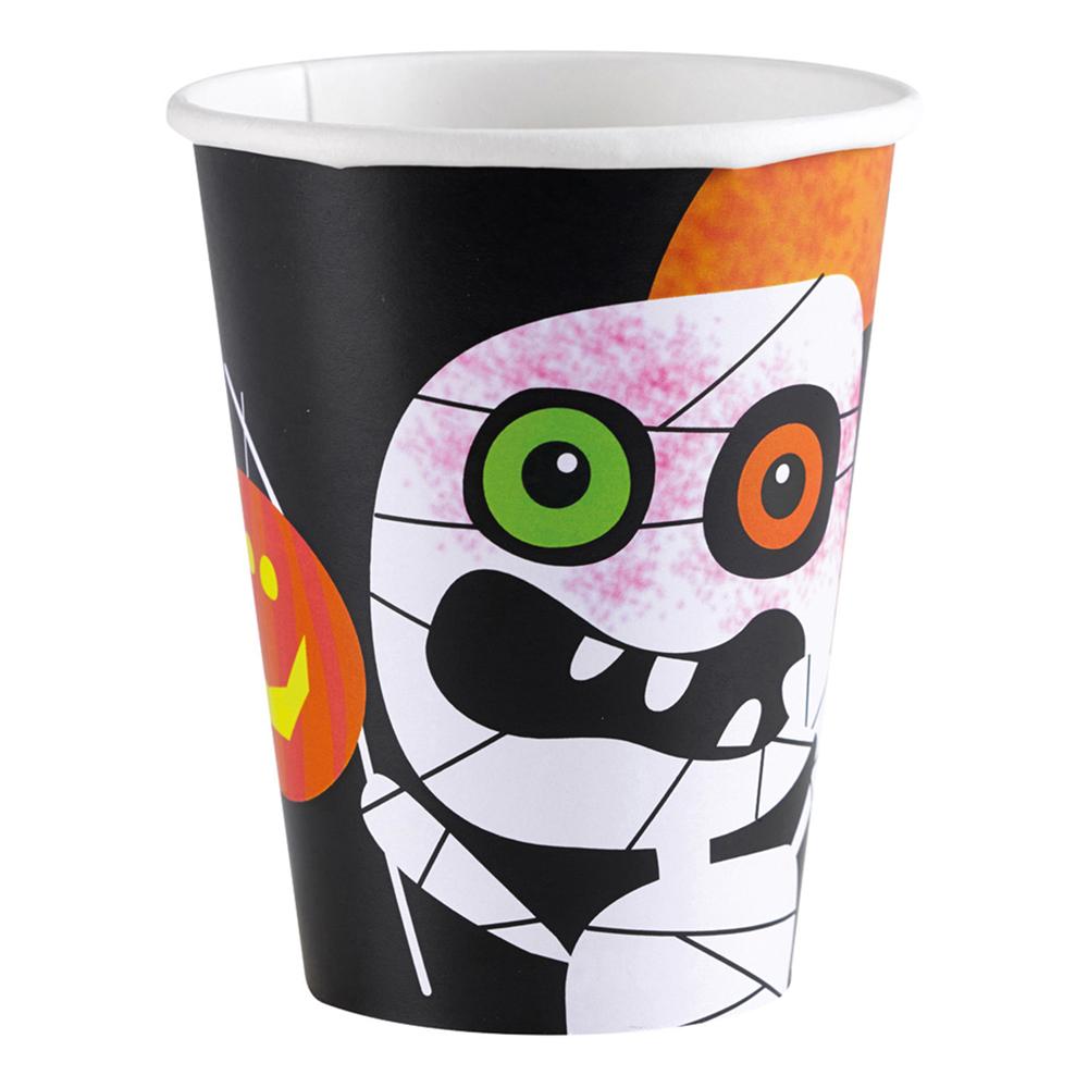 Pappersmuggar Halloween Spöke - 8-pack