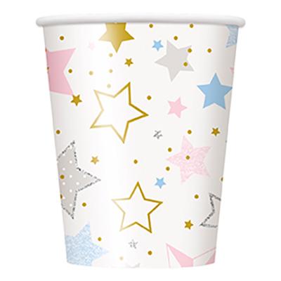 Pappersmuggar Stjärnor Twinkle - 8-pack