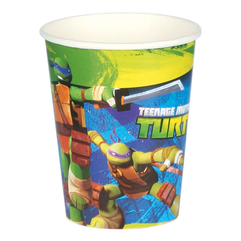 Ninja - Pappersmuggar Ninja Turtles - 8-pack