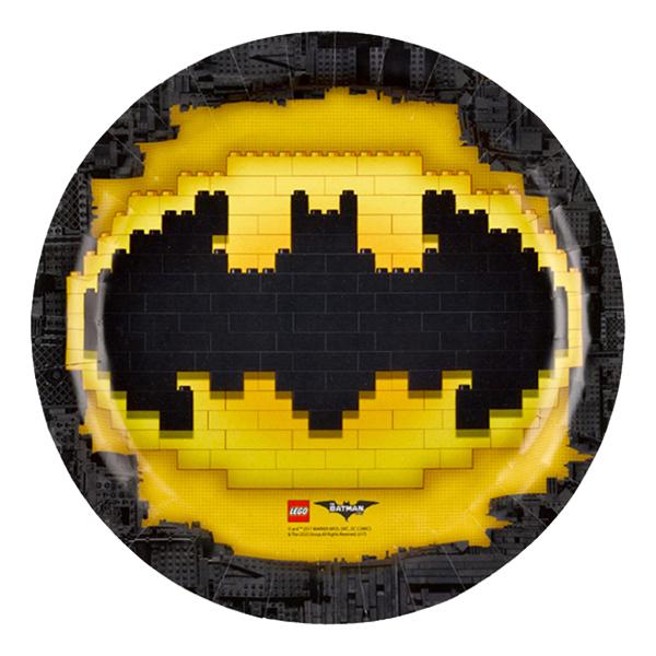 Papperstallrikar Lego Batman - 8-pack