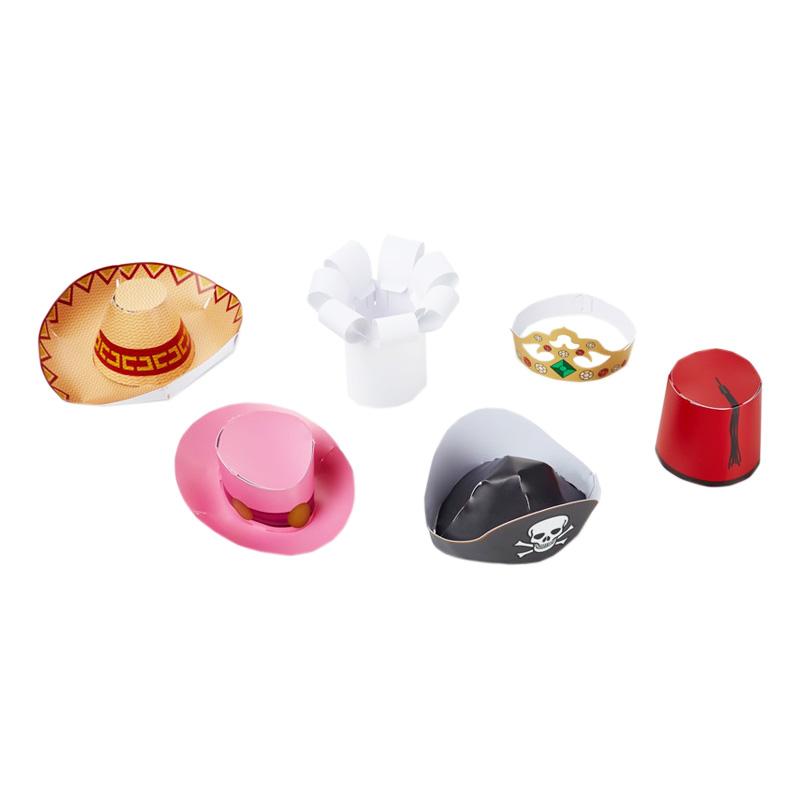 Partyhattar Mini - 6-pack