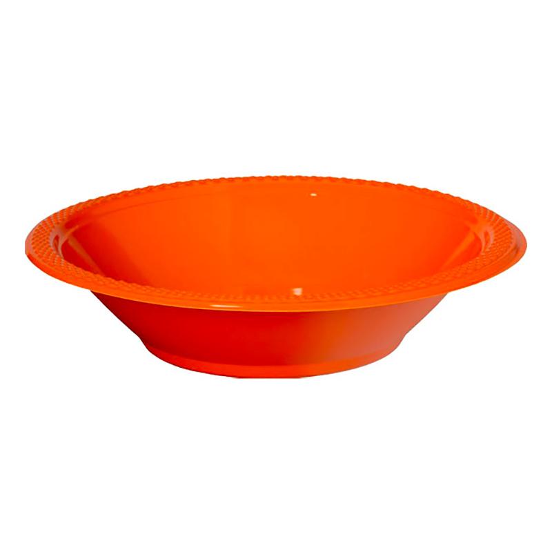 Partyskålar Orange - 10-pack