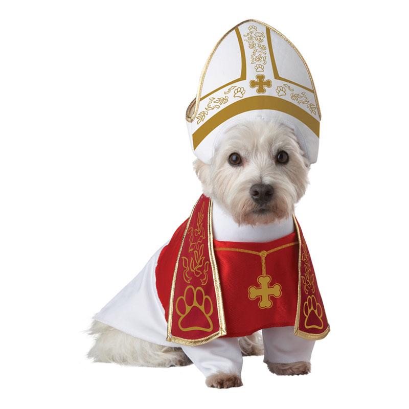 Påve Hund Maskeraddräkt - Small
