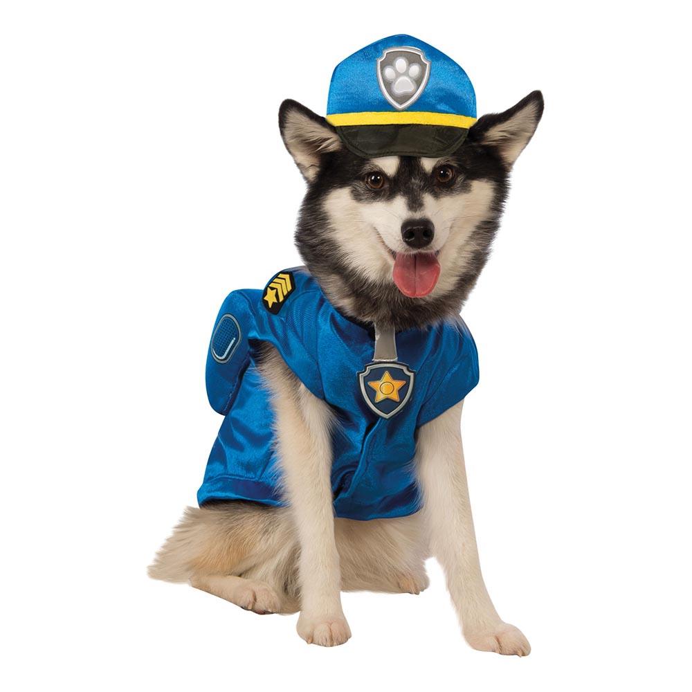 Paw Patrol Polishunden Chase Hund Maskeraddräkt - Small