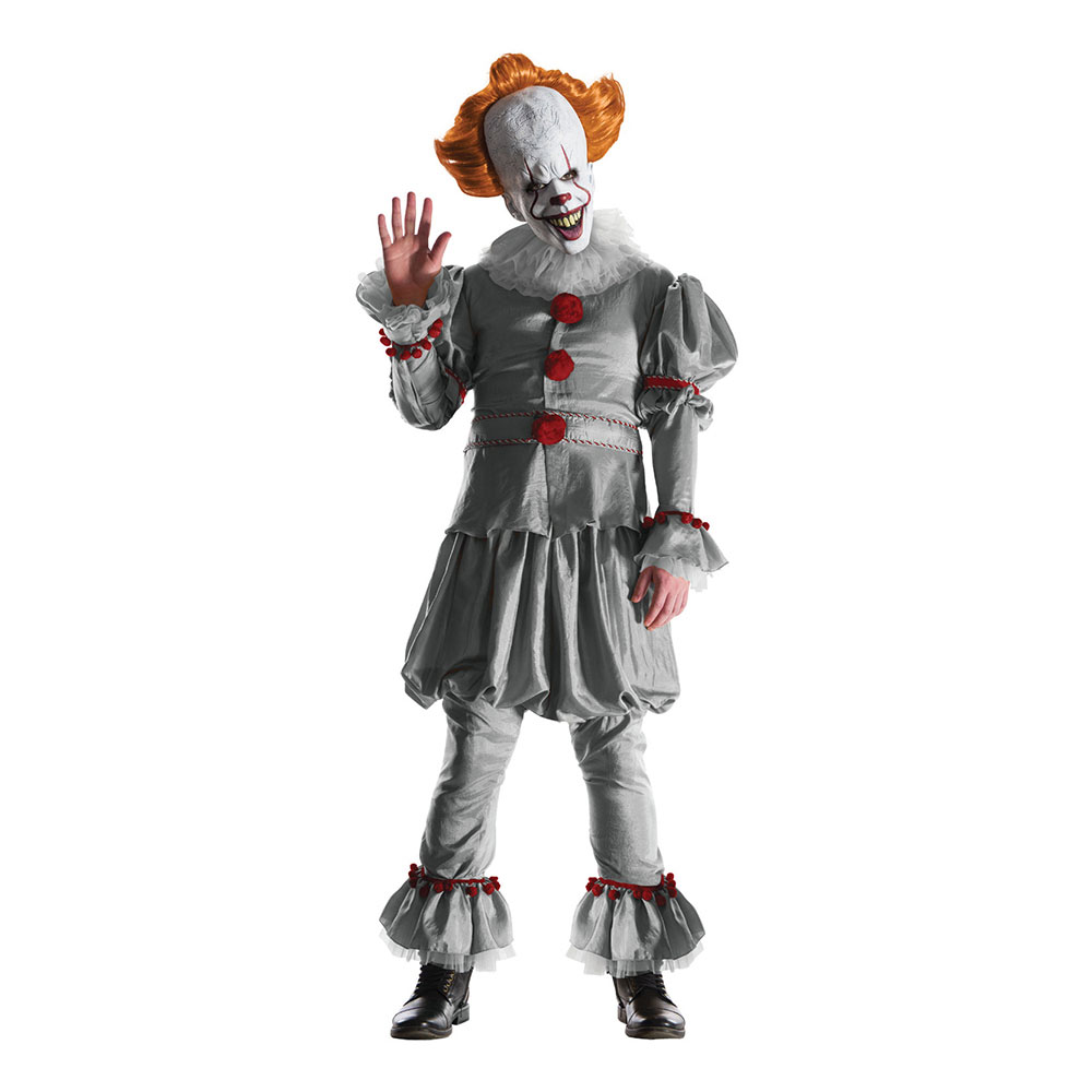 Pennywise IT Deluxe Maskeraddräkt - X-Large
