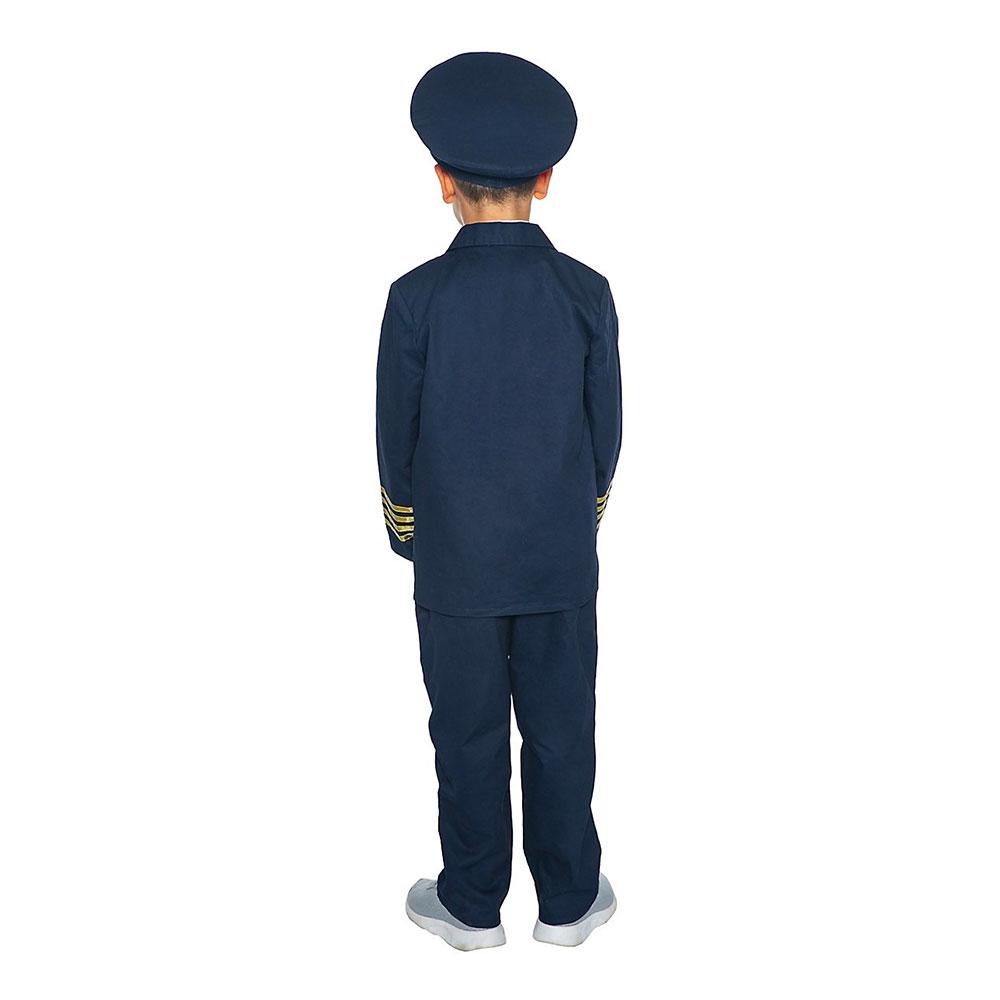 Pilot Deluxe Barn Maskeraddräkt - XX-Small