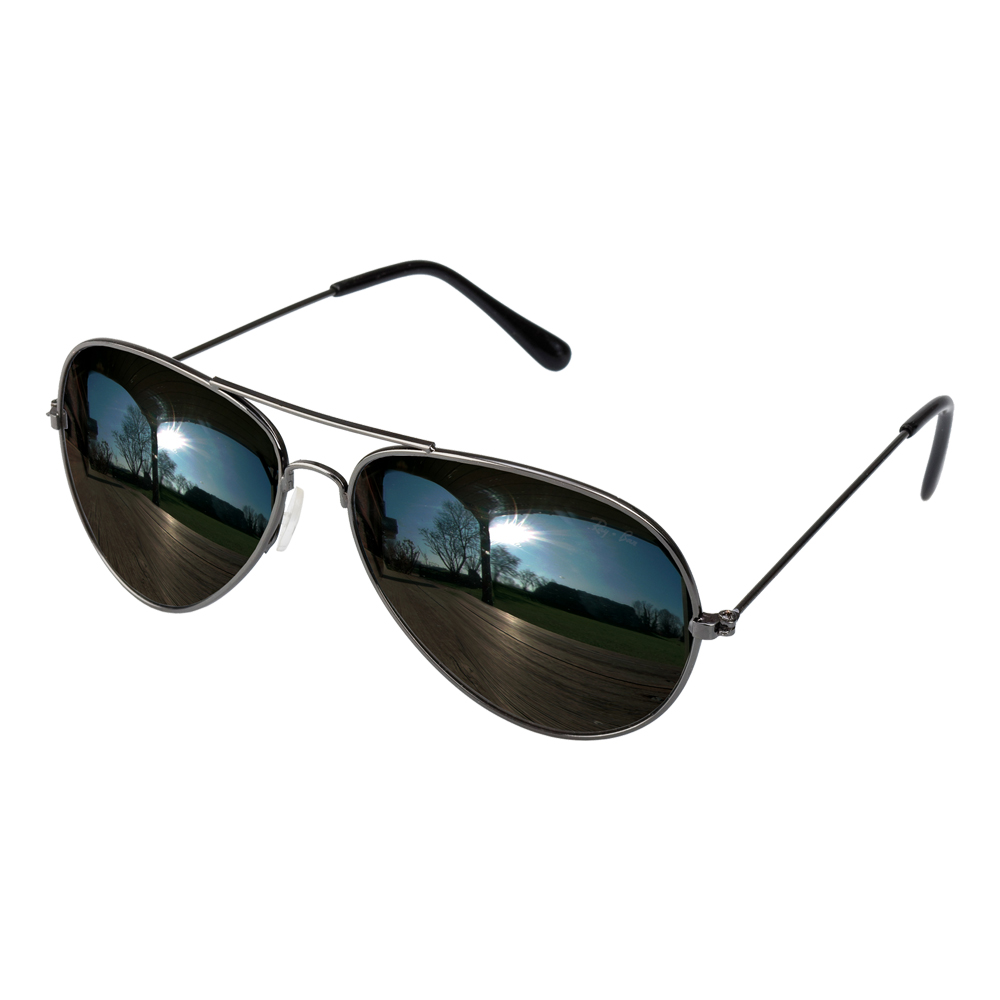 Pilotglasögon med Spegelglas
